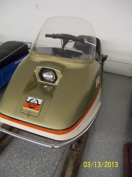 1972 Johnson Phantom 35Hp Rotary Power
