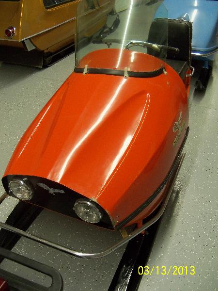 1968 Sno Hawk 297