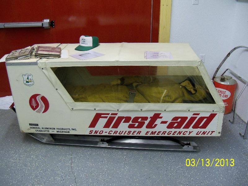 First-Aid Sno-Cruiser Emergency Unit