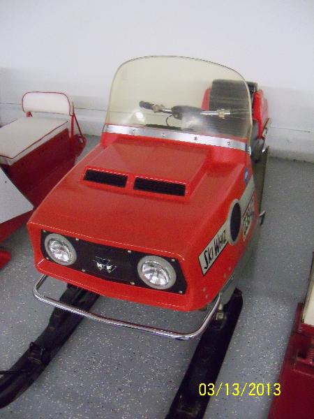 1970-1971 Ski-Whiz 400SST