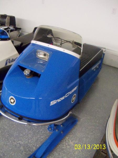1971 OMC Snow Cruiser Rapido 500 Racer